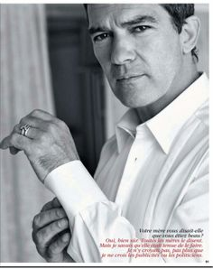 Antonio Banderas ;) You make me smile! 54 years old and still has it. Neutratone is an all-in one anti-aging treatment that targets wrinkles, fine lines and dark spots from SIX powerful ingredients. Neutratone is an anti aging cream for men and women! Visit neutratone.com now and try this amazing product yourself!