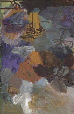 "lawrenceleemagnuson:  ""Per Kirkeby (Denmark b. 1938)  Untitled (Frankfurt) 1994  oil on canvas 200 x 129 cm  """