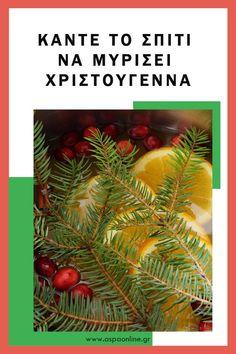 Κάντε το σπίτι να μυρίσει Χριστούγεννα #christmas #χριστούγεννα Merry Christmas, Herbs, Blog, House, Ideas, Merry Little Christmas, Home, Wish You Merry Christmas, Herb