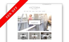 Victoria - A Clean Blog Theme. WordPress Blog Themes. $10.00