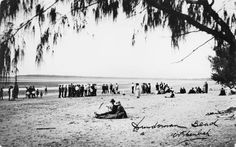 Dundowran Beach circa 1930 (SLQ)