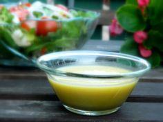 Mézes-mustáros salátaöntet