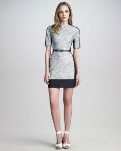 ShopStyle: 3.1 Phillip LimColorblock Linen-Blend Dress