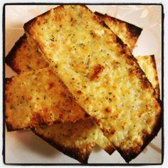 Dukan Garlic Cheese Bread