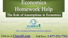 Visit The Role of Assumptions in Economics http://www.slideshare.net/Classof1HomeworkHelp/economics-ra61 to read the article.
