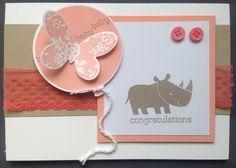 kaartjes fun: Baby neushoorn