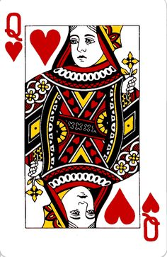 vintage queen of hearts alice in wonderland - Google Search