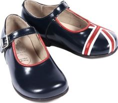 Start Rite Union Flag Babies 21,5EUR-4,5UK,28,5EUR-10,5UK Leather upper, goat suede lining, leather in-sock, resin rubber sole unit Color : Navy blue Chic style, babies Round toe, single bar buckle on the upper, Union jack and red piping on the top, Thomas h http://www.comparestoreprices.co.uk/january-2017-7/start-rite-union-flag-babies-21-5eur-4-5uk-28-5eur-10-5uk.asp