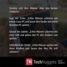 #Technuggets #Witz #PC #Kinder #Windows #Mac