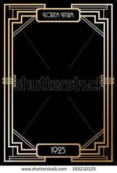 About PArty Girl On Pinterest Gatsby Table Signs And Art Deco