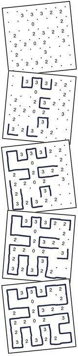 Free printable Slitherlink puzzles. Slitherlink is an addictive logic puzzle that was first published by Nikoli in Japan. The puzzle consists of a grid of dots, with some clue cells containing numbers. You connect horizontally or vertically adjacent dots to form a meandering path that forms a single loop or