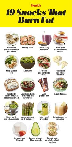 20 Snacks That Burn Fat What you eat between meals matters more than you think. These choices boost metabolism and help you lose weight fast. Healthy Life, Healthy Snacks, Healthy Living, Healthy Recipes, Healthy Weight, Detox Recipes, Healthy Detox, How To Eat Healthy, Detox Meals