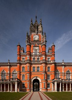 Royal Holloway, University of London by h ssan, via Flickr