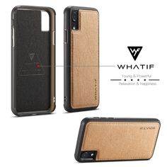 WHATIF Natural Kraft paper Leather Case for iPhone X is available in Classic Black and Brown. The WHATIF case keeps your iPhone X safe, sleek and stylish. Kraft Paper, Diy Paper, Leather Case, Protective Cases, Black And Brown, Gadgets, Ipad, Iphone Cases, Apple