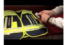 Lighted Safety Vest from GammaBrite LLC