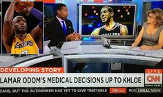 CNN runs Lamar Odom story withLaMarcus Aldridge photo #DailyMail