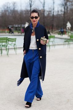 true blue #streetstyle happens