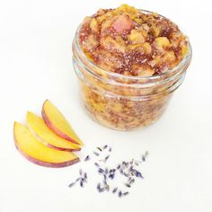 Peach Lavender Chia Jam