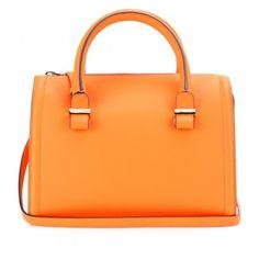Borse bauletto Primavera Estate 2014 - Bauletto Victoria Beckham arancione - #bags #bag #orange
