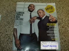 Espn Magazine Lebron James Dr Dre Playlist Music Issue February Feb 18 2013 Dr.