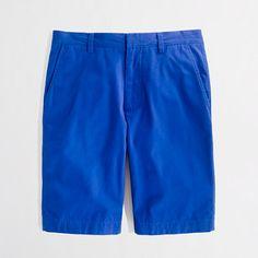 "Factory 11"" Rivington short in Blue"