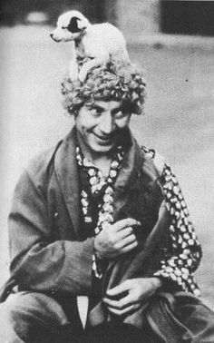 Harpo, easily the funniest Marx brother, never said a word.