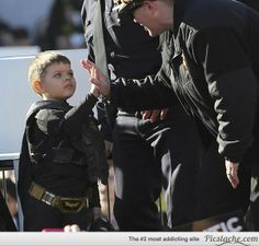 In Pics: Make-A-Wish Foundation Transforms San Francisco Into Gotham for 5 Year Old BatKid