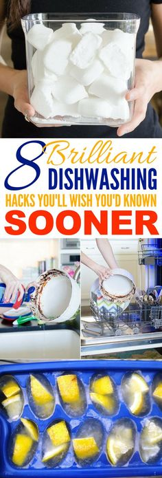 These 8 Dish Washing Hacks Are Total GENIUS! I had no idea how much money & time I could save!