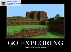 Who have the same problems in Minecraft? :D #Minecraft #CSGO