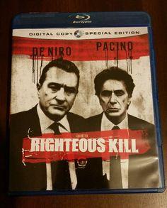 Righteous Kill (Blu-ray Disc, 2009) 2 disc De Niro Pacino