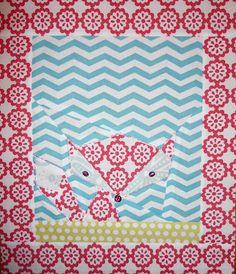 Lil fox from Monaluna organic cotton, Pattern: Sonja Callaghan - Artisania