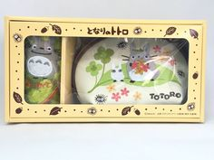 My Neighbor Totoro Pouch & Mini Hand Towel Set Studio Ghibli For Gift From Japan