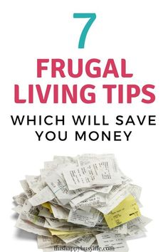 Check out these frugal living ideas for beginners. These simple money saving tips will help you stick on budget and become debt free. #frugalliving
