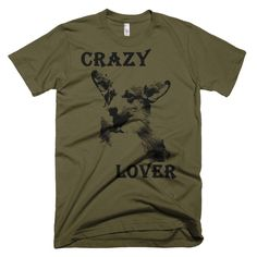 Pembroke Welsh Corgi - Crazy Lover - Men T-Shirt