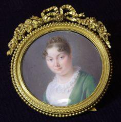 JOSEPH-MARIE BOUTON (HISPANO-FRENCH, 1768-1832) -  unknown woman