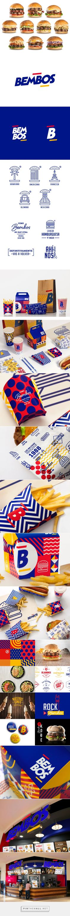 Bembos on Behance... - a grouped images picture - Pin Them All