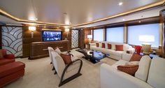 Benetti Yachts Latitude (ex Latinou)  Main Deck