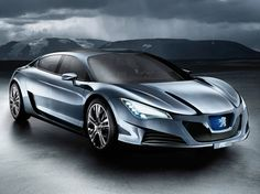 French Concept Cars: Peugeot RC HYbrid 4 Concept