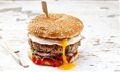 Burger με αυγό θεϊκό από την Αργυρώ Μπαρμπαρίγου!