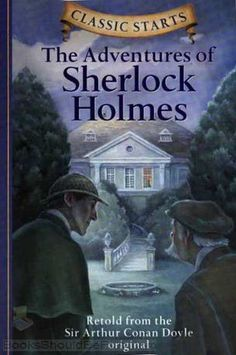 The Adventures of Sherlock Holmes by Sir Arthur Conan Doyle. Watson chronicles here some of the more interesting detective cases that he and his good friend, Mr. Sherlock Holmes, have encountered during their association. Original Sherlock Holmes, Sherlock Holmes Series, Detective Sherlock Holmes, Adventures Of Sherlock Holmes, Arthur Conan Doyle, Sir Arthur, I Love Books, Books To Read, Nook Books