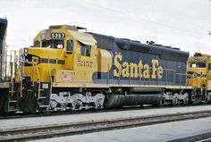 https://flic.kr/p/tixqy9 | Santa Fe SD45 No. 5357 At Needles
