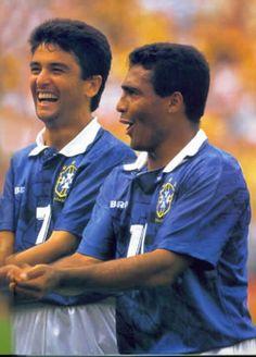 """Brazil : Bebeto and """"Romário"""", Romário da Souza Faria"""