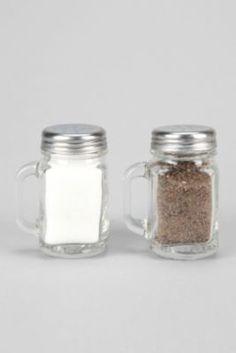 Mason Jar Salt and Pepper Shaker-Set Of 2
