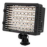 Limited Time Offer on NEEWER CN160 VIDEO LIGHT 160 LED for all Cameras Video Youtube Recording.