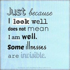 ***Life with Chronic Pain and Invisible Illnesses