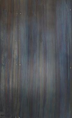 DIRECTIONAL BLUE HEAT - Brandner Design Steel Patina, Patina Metal, Michigan Lake House, Hale House, Black Backsplash, Steel Panels, Metal Canopy, Thing 1, Steel Wall