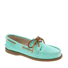 Mint Sperry Top-Sider boat shoes... love