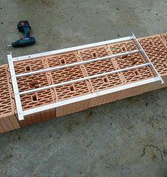 Кондуктор для кладки блоков