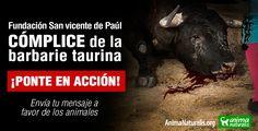 ¡Ponte en Acción! Por el fin de las corridas de toros en Medellín, #Colombia.  Desde AnimaNaturalis Internacional invitamos a toda aquella persona que se sienta indignada con la existencia de corridas de toros, a que envíe su mensaje a la San Vicente Fundación. Sólo su junta directiva puede decidir que en la ciudad de #Medellín existan o no las crueles corridas de #toros.  Estamos a tiempo, podría ser el año 2015 el último en ver esta barbarie en la hermosa Medellín, pero los animales te…