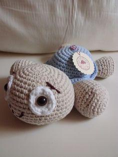 """Häkeltier Schildkröte """"Baby"""" - Spielzeug von Die-Nadeltante auf DaWanda.com"""